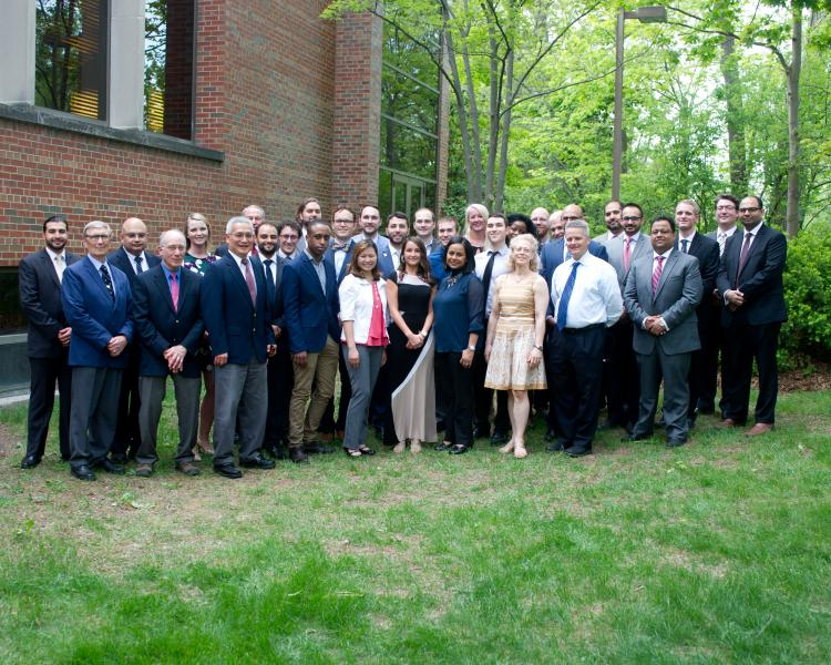 Department of Neurology and Ophthalmology group photo